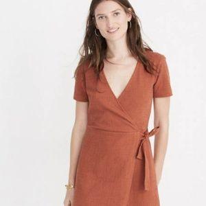 Madewell Texture & Thread Side-Tie Dress/ Top